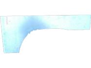 Арка крыла заднего (лев) 235083-5RB