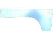 Арка крыла заднего (прав) 235084-5RB