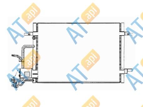 Радиатор кондиционера 94212