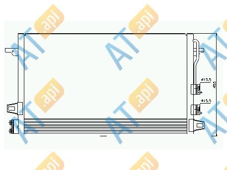 Радиатор кондиционера 94929