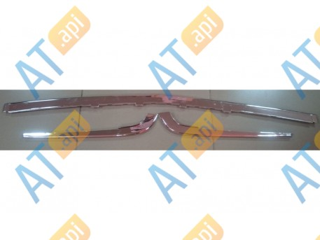 Молдинги бампера (комплект) PAD02004CH