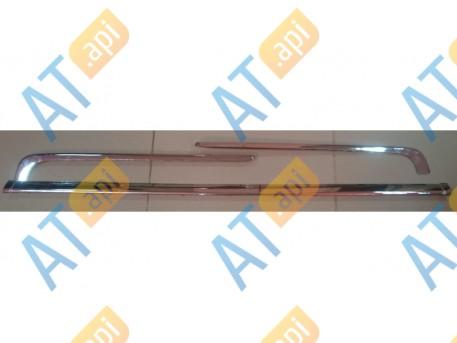 Молдинги бампера (комплект) PAD02005CH