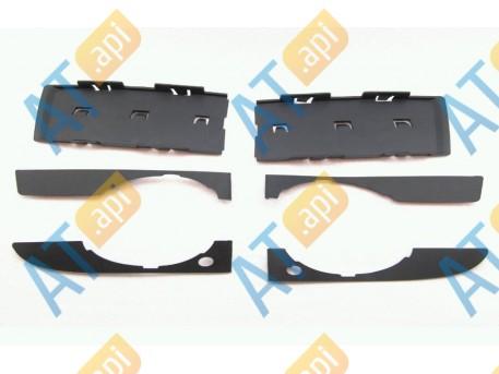 Решётки в бампер (комплект) PAD99137L_R