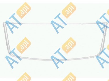Рамка решетки бампера PCV99214CA