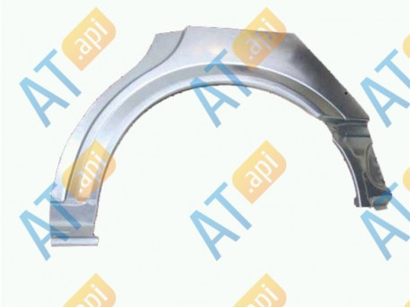 Задняя арка (левая) POP77014EL