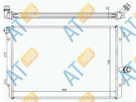 Радиатор двигателя RA65281Q