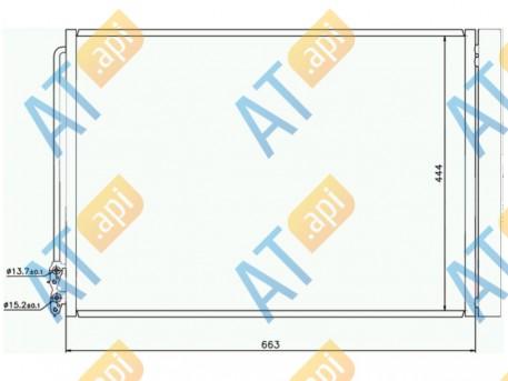 Радиатор кондиционера RC940110