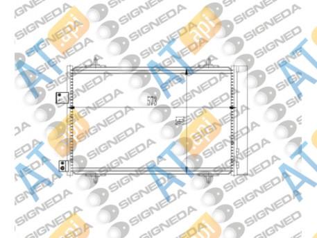 Радиатор кондиционера RC940239