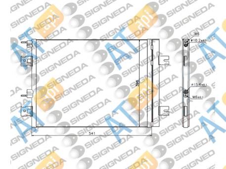 Радиатор кондиционера RC940262Q