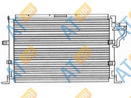 Радиатор кондиционера RC94166