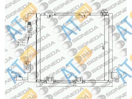 Радиатор кондиционера RC94385