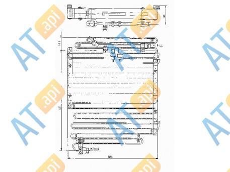 Радиатор кондиционера RC94459