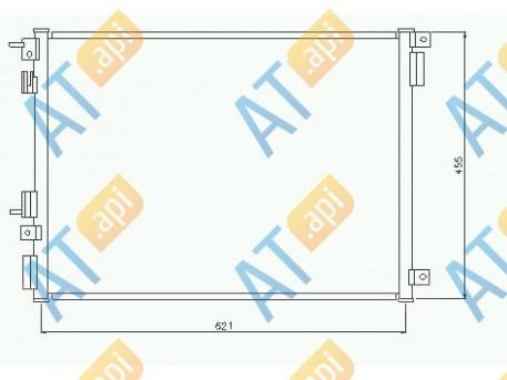 Радиатор кондиционера RC94555