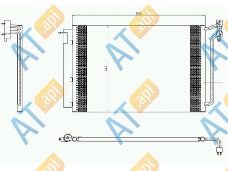 Радиатор кондиционера RC94605
