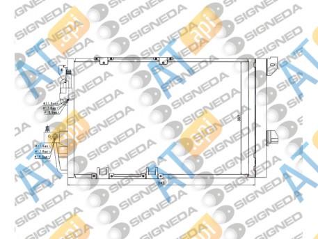 Радиатор кондиционера RC94650