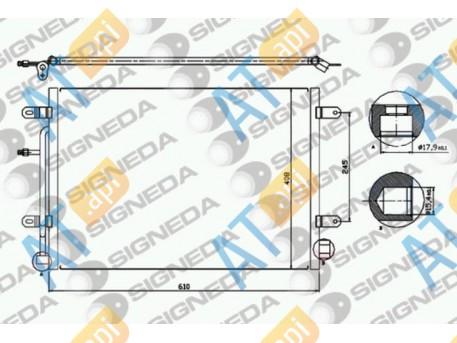 Радиатор кондиционера RC94851