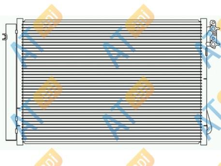Радиатор кондиционера RC94872