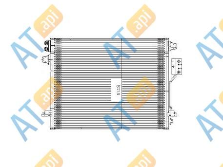 Радиатор кондиционера RC95020
