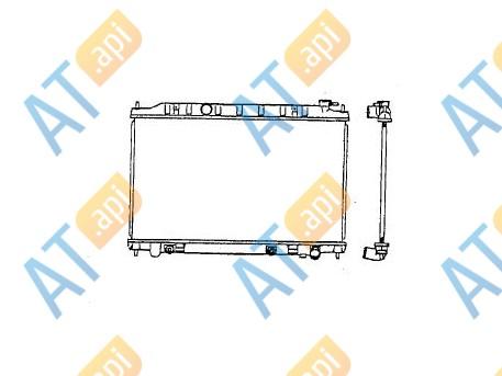 Радиатор кондиционера RC95950