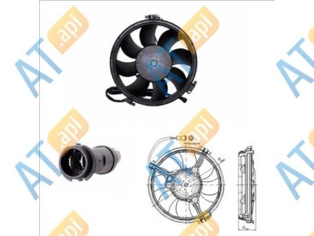 Диффузор радиатора RDAU243930
