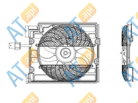 Диффузор кондиционера RDBM533930