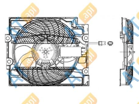 Диффузор кондиционера RDBM53393A0