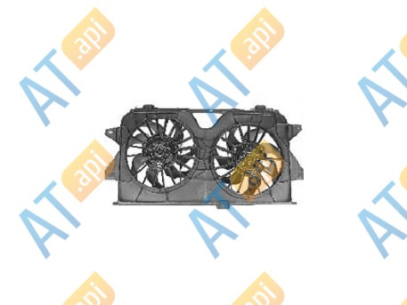 Диффузор радиатора RDCR620160