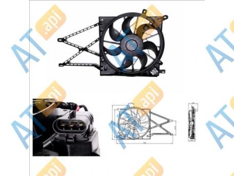 Диффузор радиатора RDOP800040