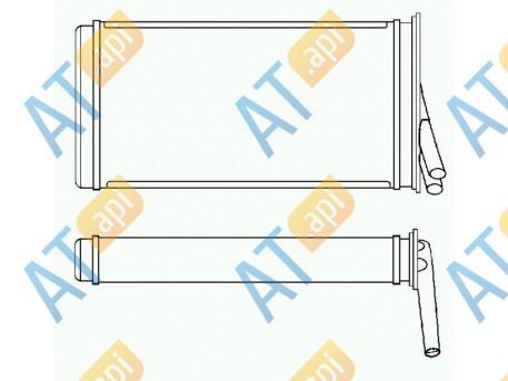 Радиатор обогрева салона RP70221