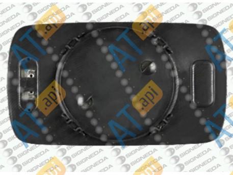 Стекло бокового зеркала (левое) SBMM1002AL