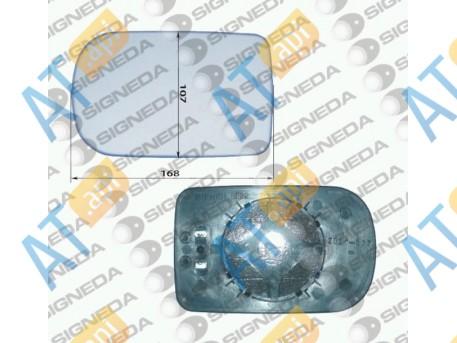 Стекло бокового зеркала (левое) SBMM1003CL