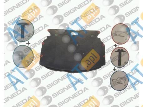 Крепления защиты (комплект) TRX90210