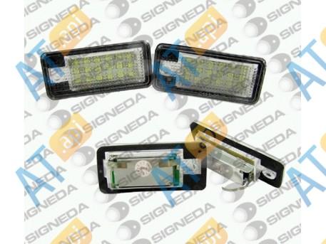 Подсветка номера led (комплект) ZADEP18