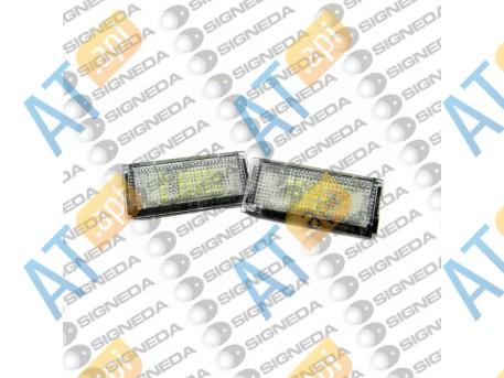Подсветка номера led (комплект) ZBMEP02