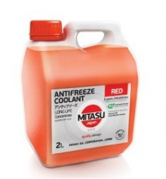 Mitasu MJ-611-2  RED LONG LIFE ANTIFREEZE/COOLANT G12+ 2L