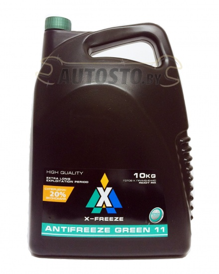 X-FREEZE 430206071 G11 Green 10 кг